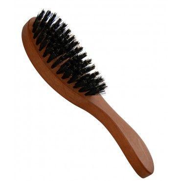 KOSTKAMM Haarpflegebürste, oval, Birnbaum gewachst, weiche Borsten