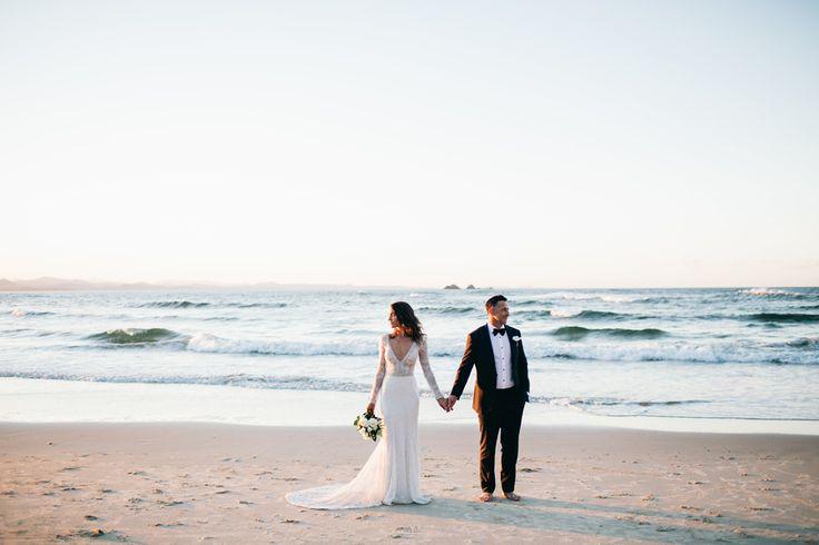Sahra + Troy :: Wategoes Seashore Wedding ceremony Images, Byron Bay Elopement Wedding ceremony Photographer