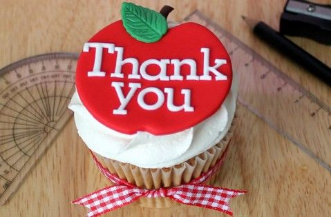 Teachers' thank you cupcakes recipe - goodtoknow