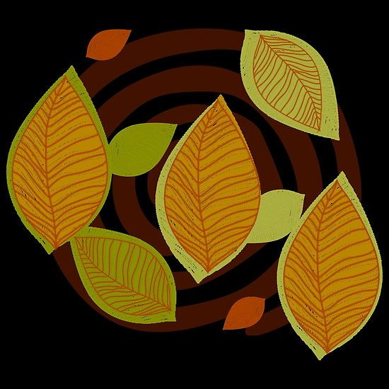 Looking to Fall Pattern - by Grimalkin Studio / Kandy Hurley  #abstract #decoration #shopping @grimalkinart