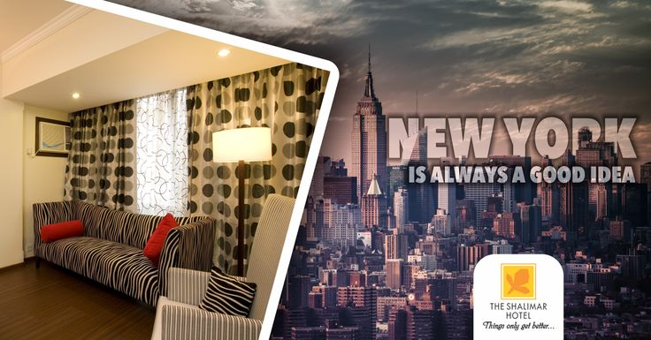 "We bring you a slice of corporate America in our Lifestyle Suite ""New York""."