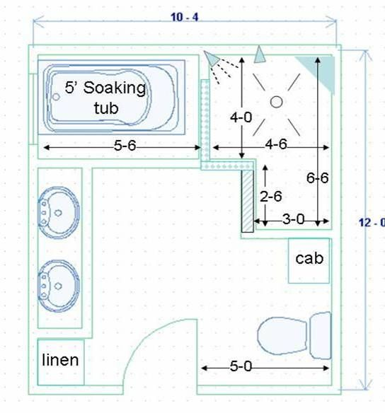 Walk In Shower Plans And Specs | Amazing House Plans