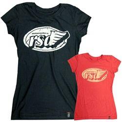 2014 Roland Sands Design Women's Shirt Top Flag T-Shirt