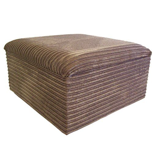 Ottomans Deacon Beige Upholstered Blanket Box: 120 Best Living Room Footstools