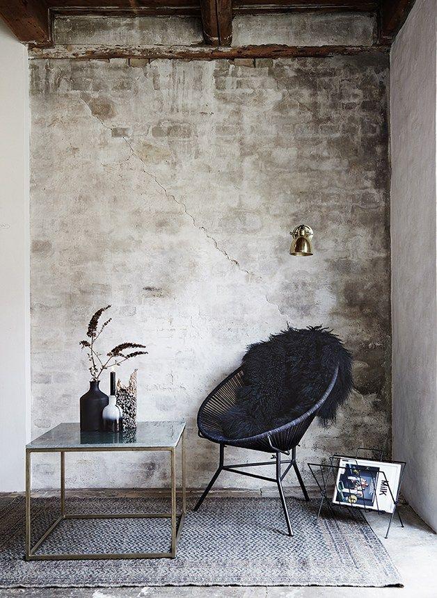 Love this living room corner