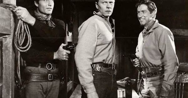 Peter Boone Son of Richard | ' ROOST (1956) - George Montgomery - Peter Graves - Richard Boone ...