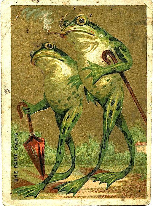 День, жаба открытки