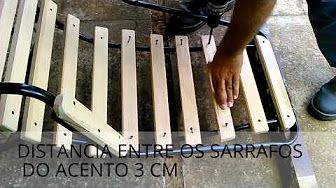 Como Recuperar Cadeiras De Área Com Madeira 1/2 - YouTube
