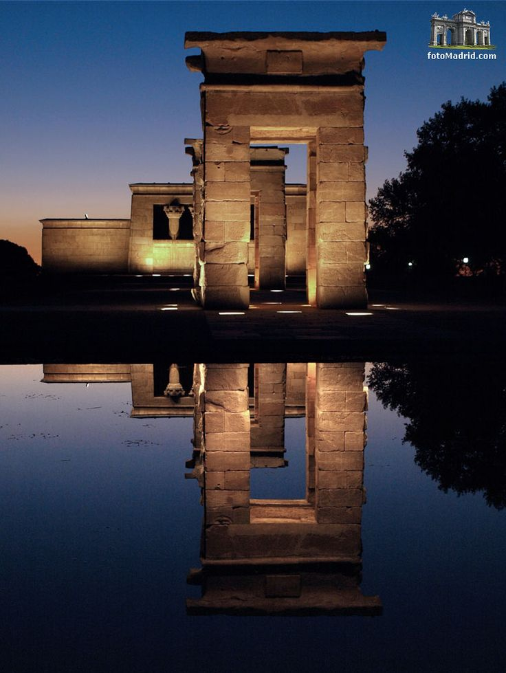 Templo de Debod Madrid-Spain