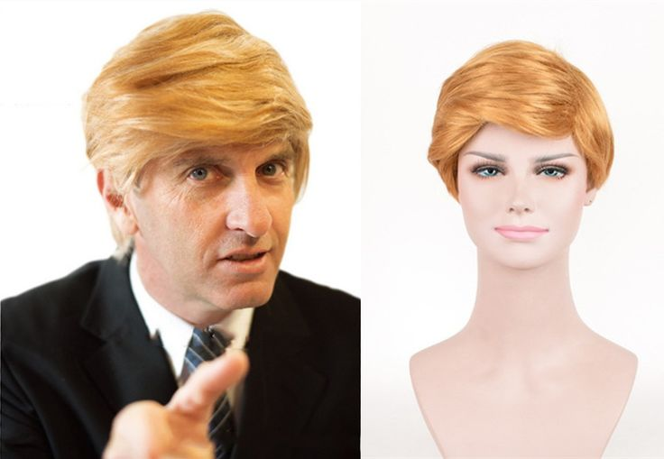 >> Click to Buy << Donald Trump Gold Wig Costume Comb Over Hair President Cosplay for Halloween Costume Adult Fancy Wig #Affiliate