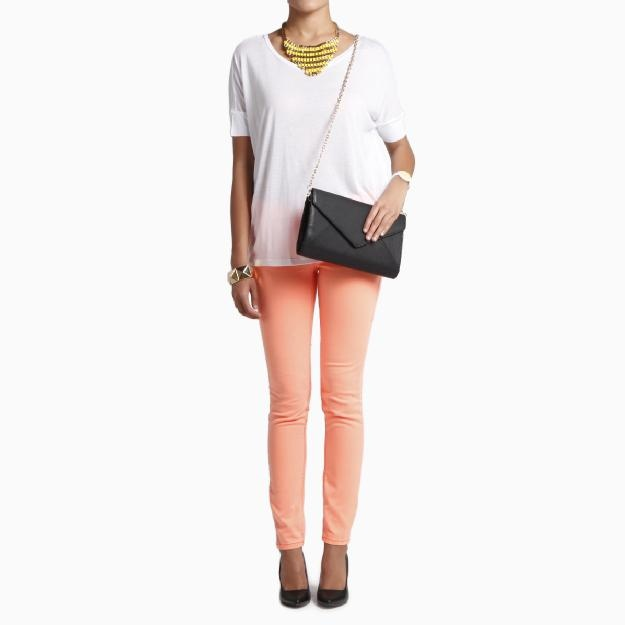 Neon Jeans by Scarlet Boulevard - lots of colors in this awesome skinny jean