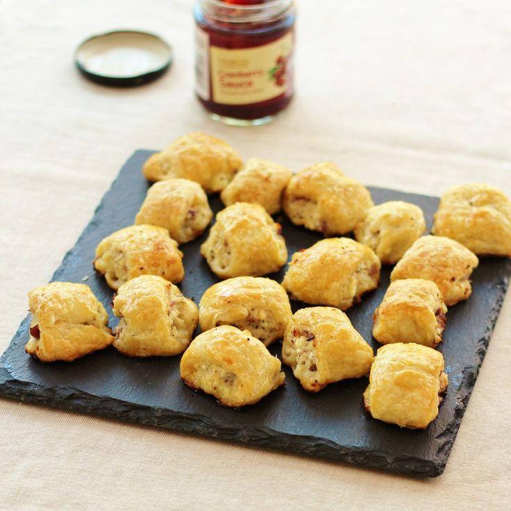 Turkey, Cranberry and Feta Sausage Rolls   Recipe ...