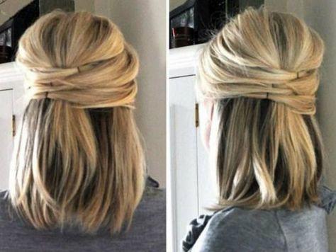 7 peinados semi recogidos y sencillos para eventos especiales