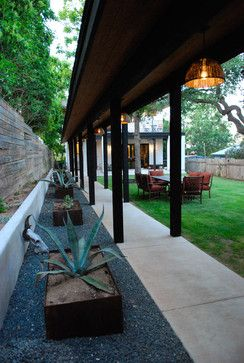 My Houzz: A Dream Home Grows From an Empty Austin Lot - contemporary - landscape - austin - Kara Mosher