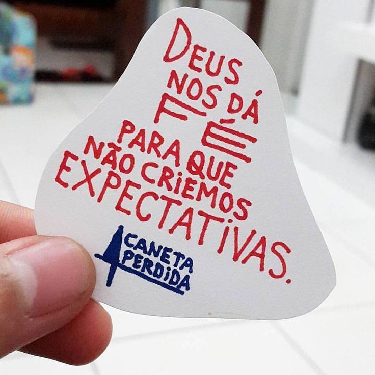 Deus nos dá fé para que não criemos expectativas. Aprende!! #CanetaPerdida #HeytorNeco