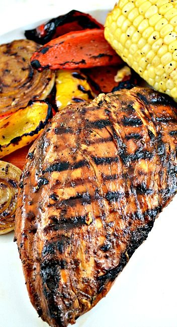 Everyday Simple Marinated Grilled Chicken. This is my go to recipe for grilled chicken because it's always so so so easy and most importantly, delicious!
