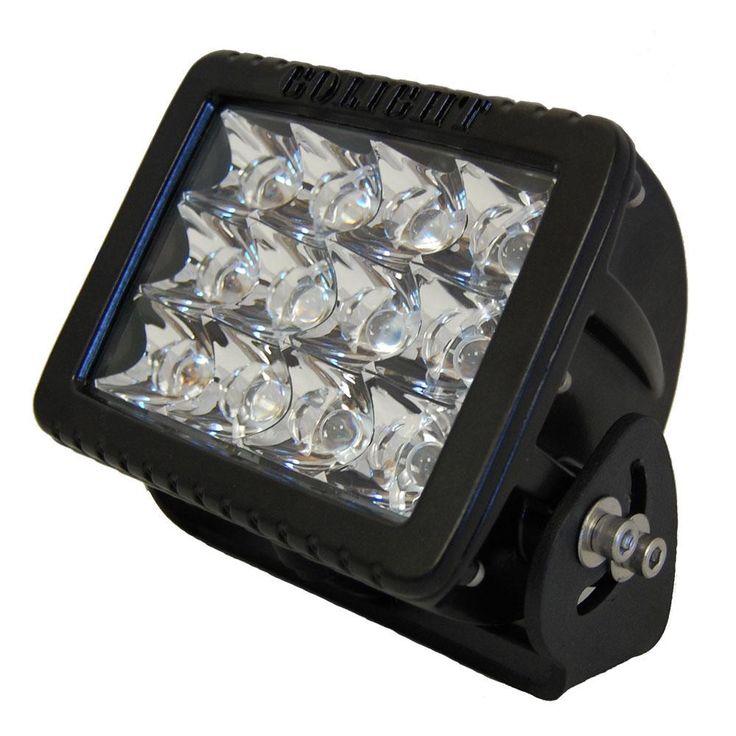 Golight GXL Fixed Mount LED Spotlight - Black