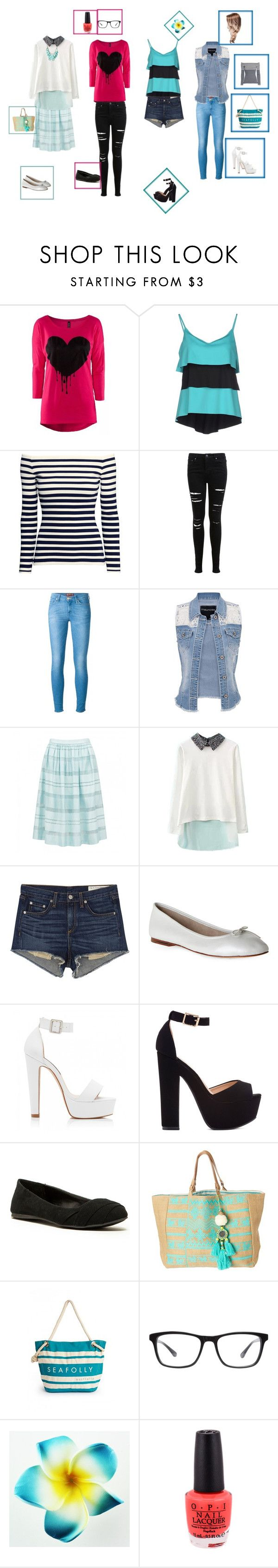 """""""Wanna Be?"""" by justkittn33 ❤ liked on Polyvore featuring FISICO Cristina Ferrari, H&M, Miss Selfridge, 7 For All Mankind, maurices, Forever New, rag & bone/JEAN, Bloch, Qupid and Star Mela"""