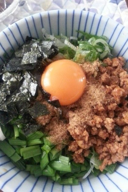 台湾まぜそば(まぜそば) by szkmama [クックパッド] 簡単おいしいみんなのレシピが233万品