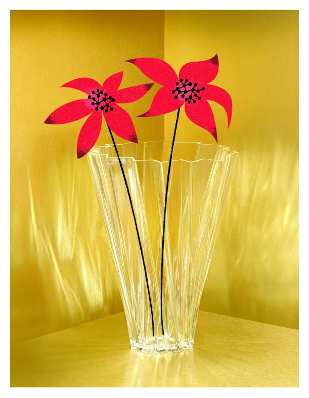 A treasury Xmas ideas   Flowers are always a nice care  Shanghai by Mario Bellini