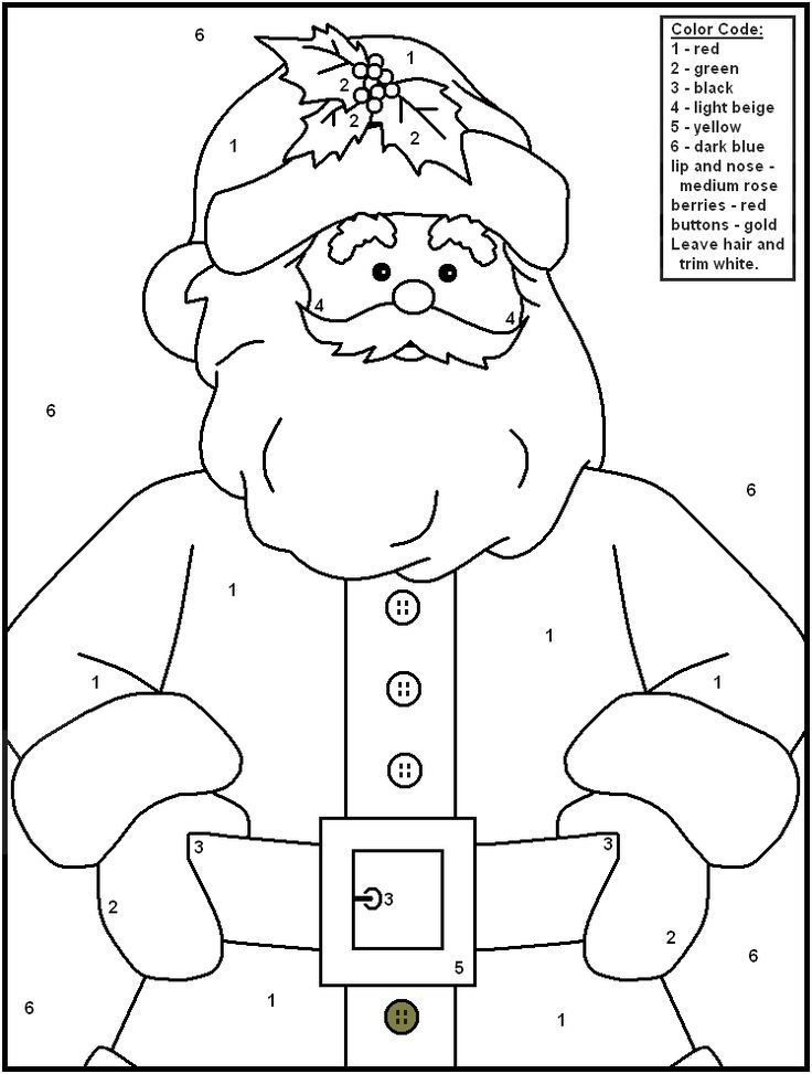 Free Printable Christmas Color By Number Pages Merry Games Christmas Color By Number Christmas Coloring Pages Christmas Colors