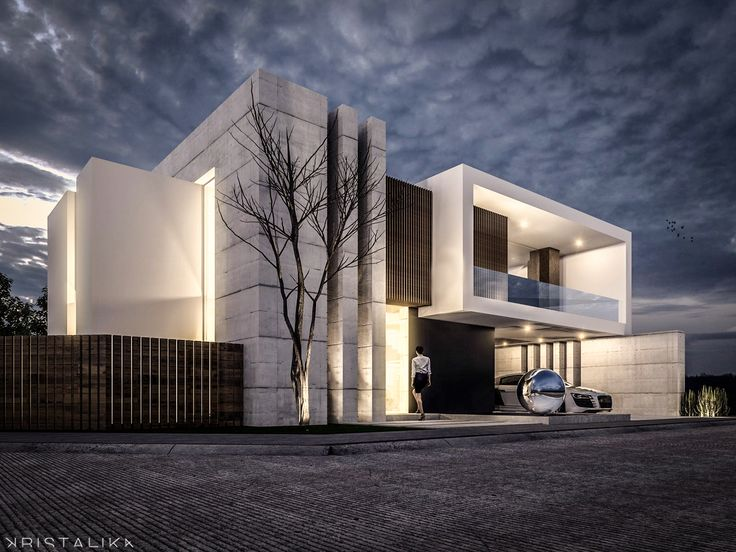 1000 ideas about modern villa design on pinterest for Modern villa exterior design