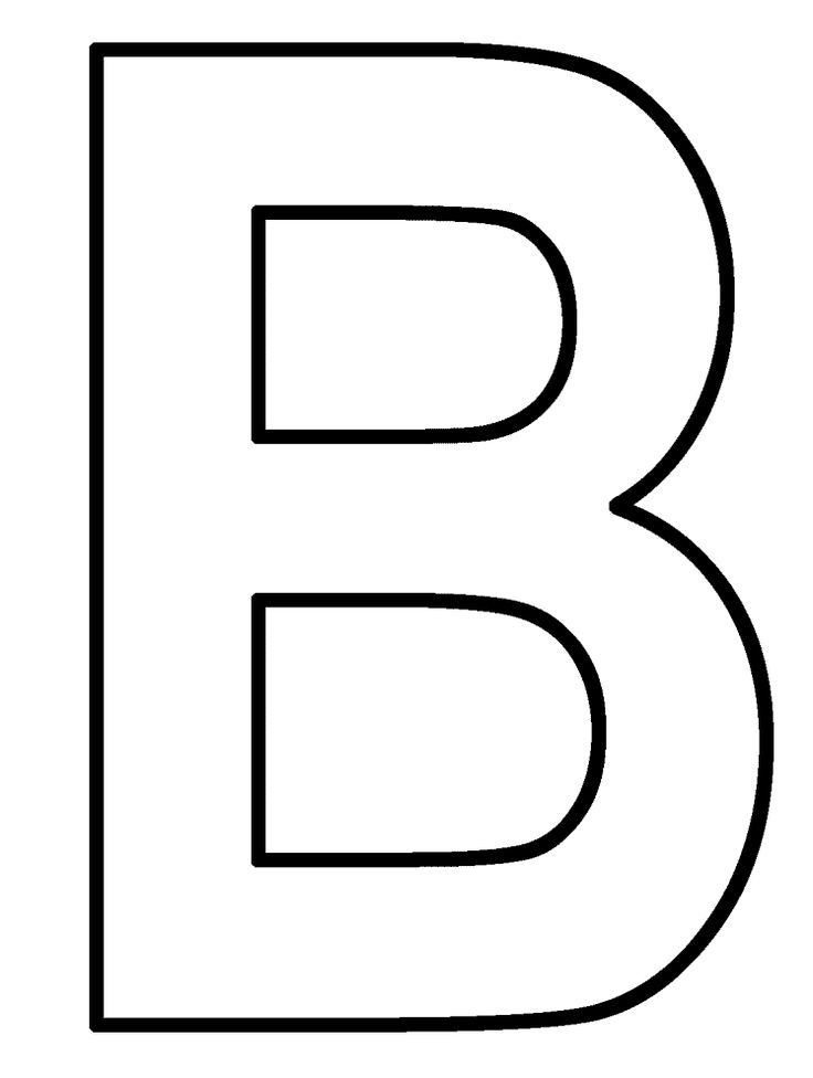 8 best Letter B Coloring Pages images on Pinterest Letter b