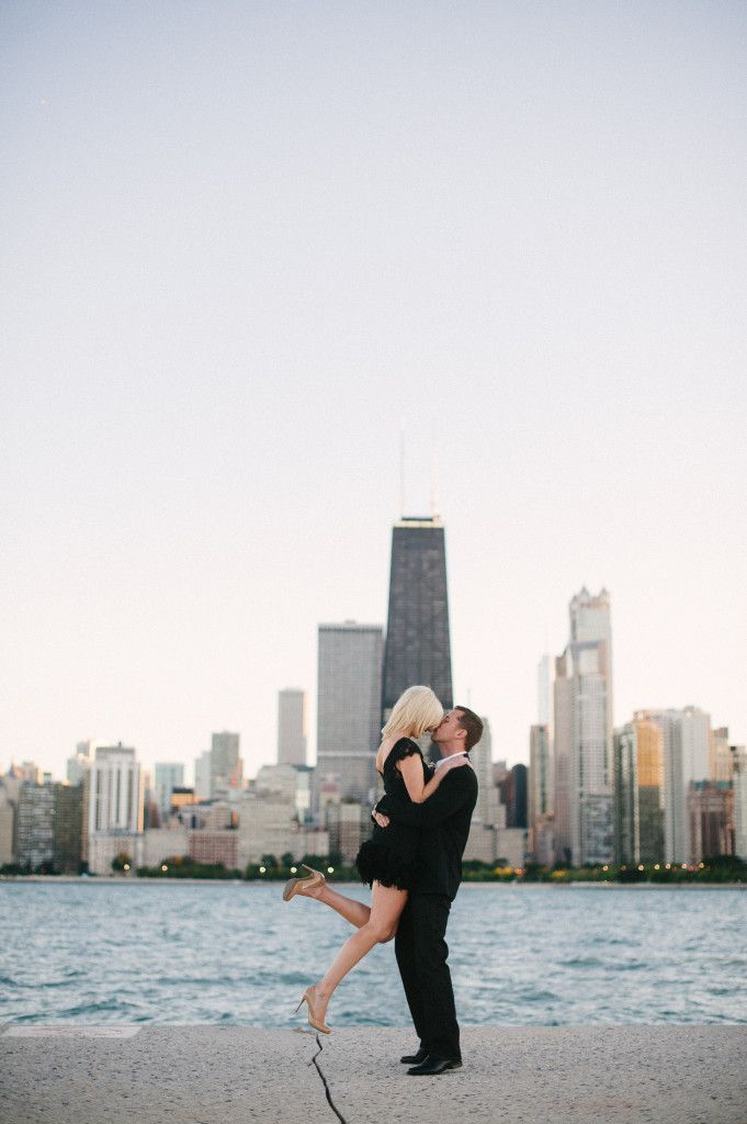Nick & Taylor's City Chic Engagement, Photography: @Britta Hundertmark--Love this city and these beautiful engagement photos!