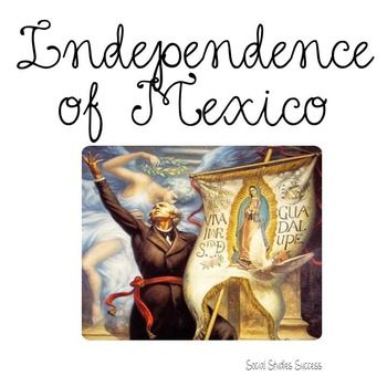 Mexican War for IndependenceTexas was once a part of Mexico and impacted by its history.  How did the war for Mexican Independence from Spain impact Texas?  In this lesson, students will learn about the Mexican Independence movement, Father Hidalgo, the expedition of Gutirrez and Magee and the Battle of Medina.Your students will begin this lesson listening and analyzing the Mexican National Anthem.