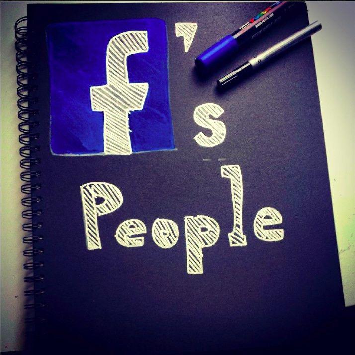 """""""F's people"""" Marco Manni 1^anno grafica"""