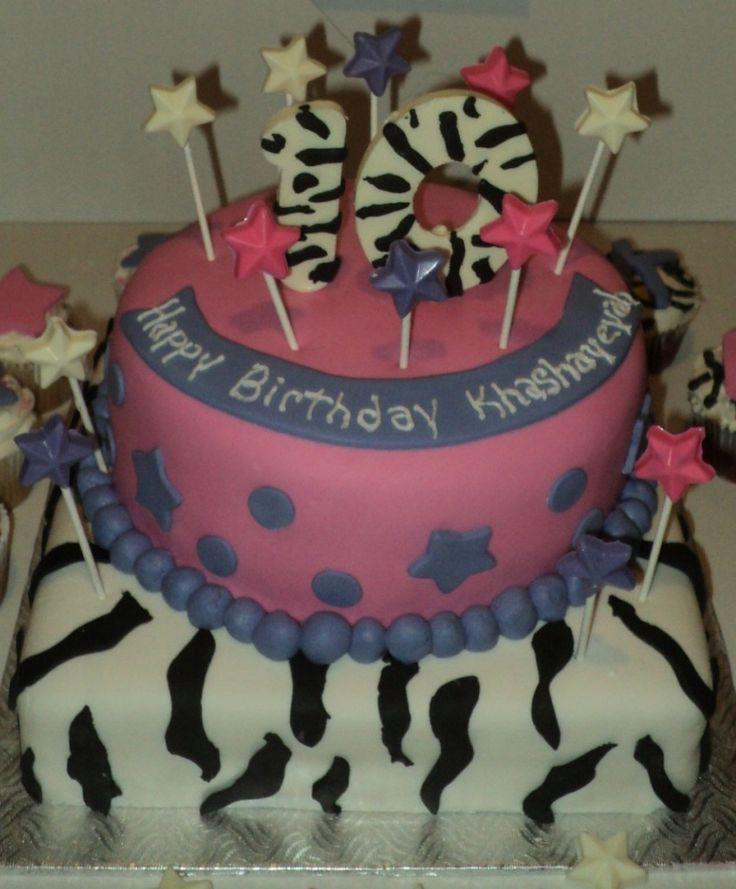 Beautiful  10th Birthday Cake for Girls