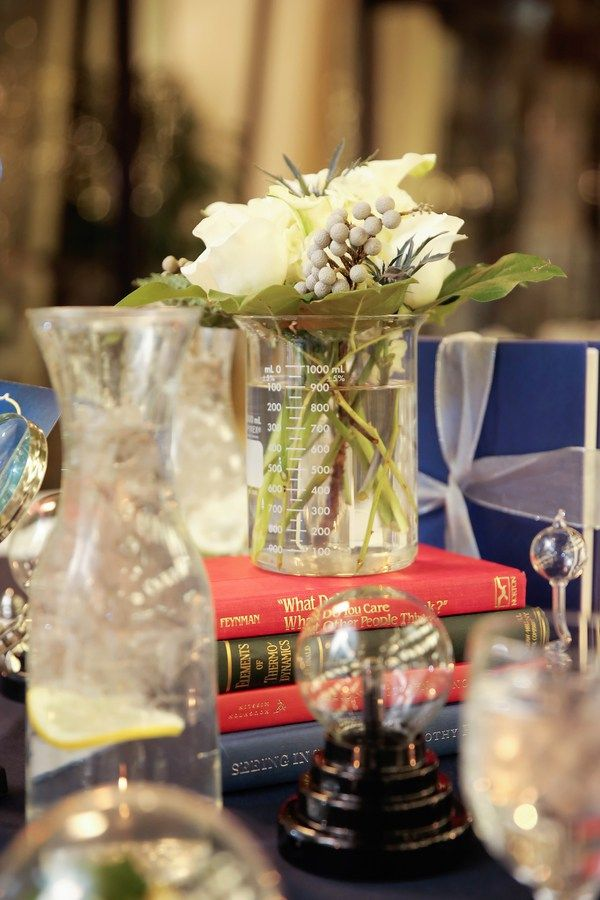 Tesla table #science #wedding #ScienceWedding