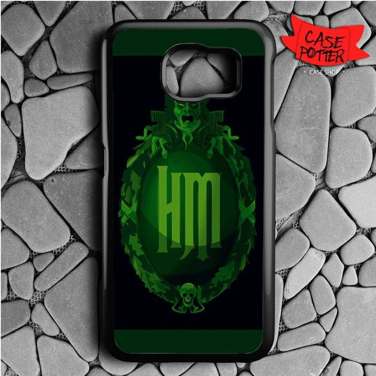 Haunted Mansion Samsung Galaxy S6 Black Case