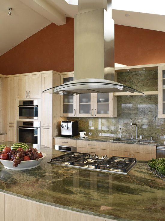 Vent Hood Over Kitchen Island Part - 36: Island Ventilation Hood Design, Pictures, Remodel, Decor And Ideas - Page 5