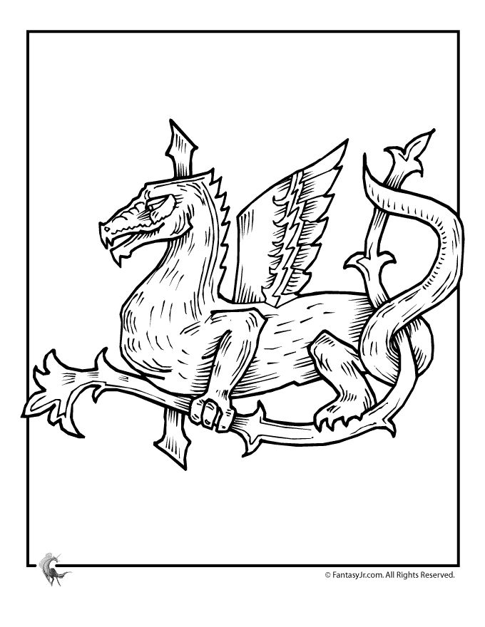 star wars coloring pages for kids see more fantasy jr celtic dragons - Dragon Coloring Pages For Kids 2