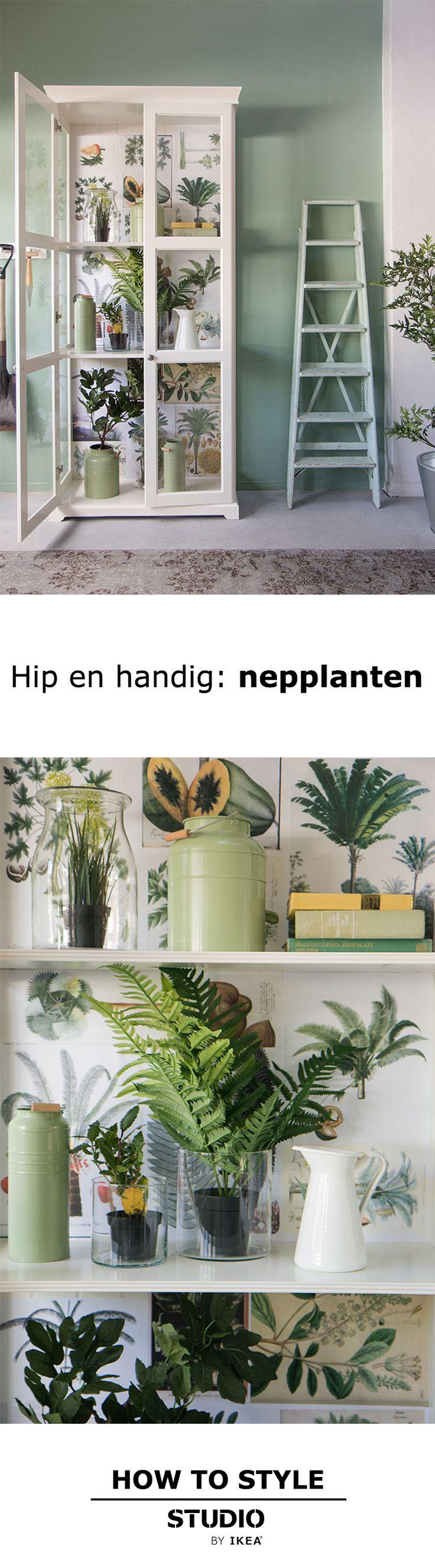 STUDIO by IKEA - Hip en handig: nepplanten | IKEA IKEAnl IKEAnederland HowTo HowToStyle DIY Planten Nepplanten Fake Nep Groen Natuurlijk Natuurlijk Organisch Duurzaam UrbanJungle Jungle