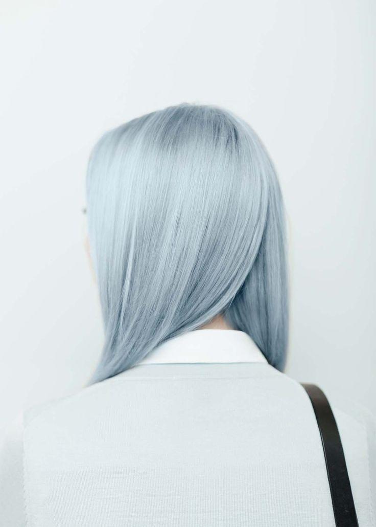 Ally Capellino | SS15 Lookbook. Blue hair.