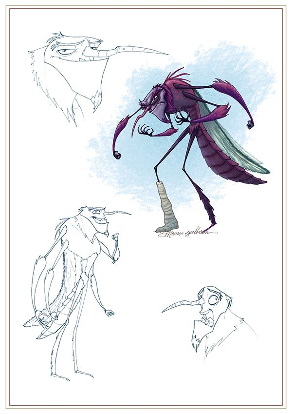 Character Design and Concepts for Animated 3D Project - Untref Media.