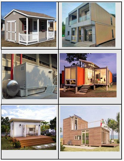 40 Feet Luxury Prefabricated Modular Shipping Container House