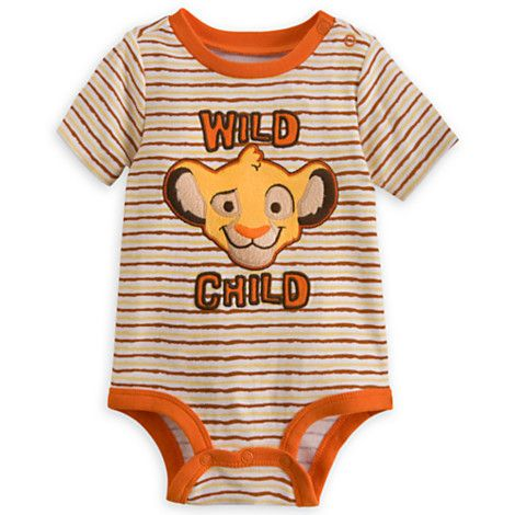 Lion King Disney Cuddly Bodysuit for Baby