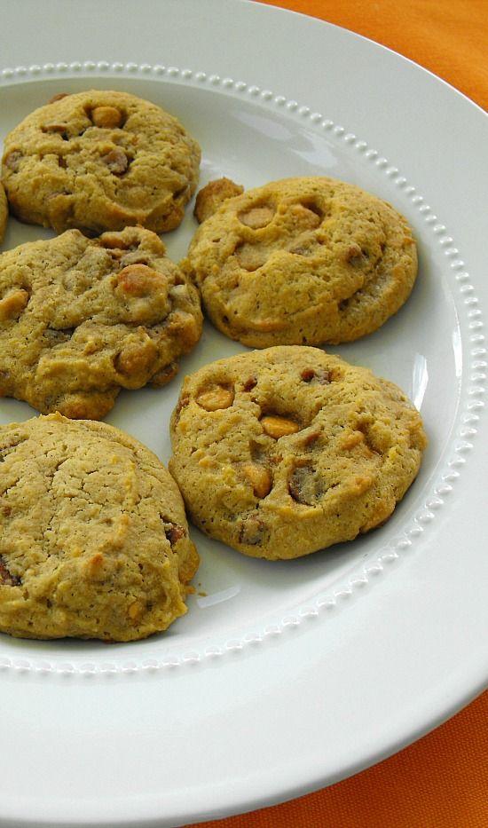 Pumpkin Cookies with Butterscotch Morsels   Recipe