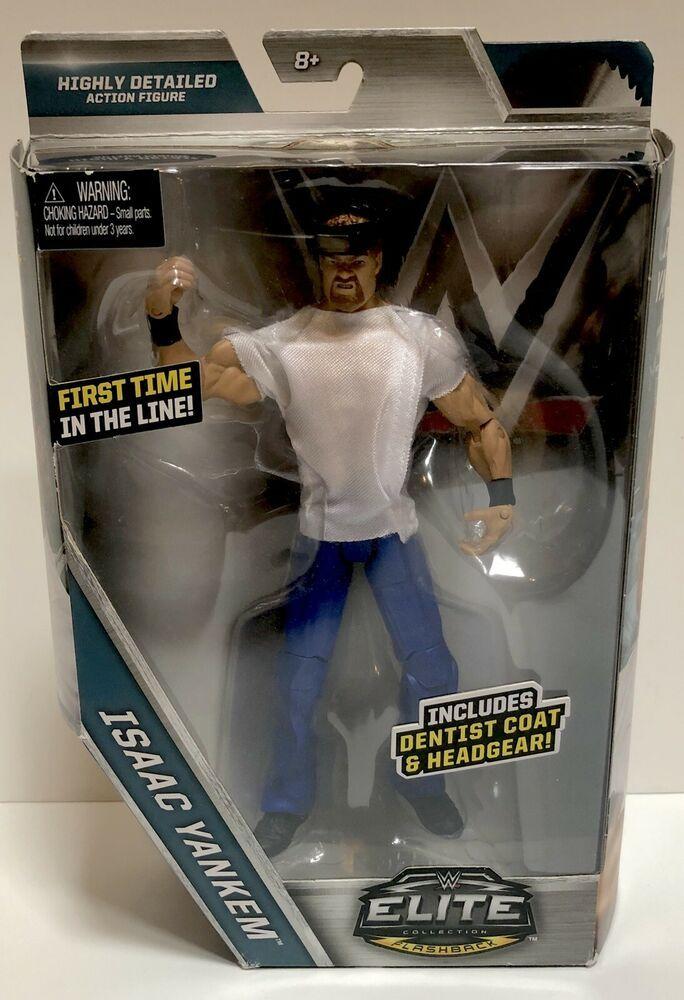 WWE Elite Collection Isaac Yankem Action Figure
