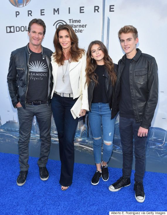 Cindy Crawford And Her Lookalike Daughter Kaia Gerber Attend Tomorrowland Premiere