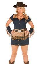 Plus Size Cowgirl Cutie Sheriff Halloween Costume