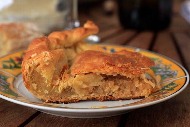 "A totally vegan version of the delicious traditional French king cake or ""galette des rois""."