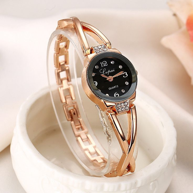 Women Wristwatch Ladies Watch Clock Female Wristwatches Stainless Gold Plated