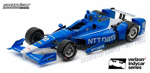 1:18 2016 #10 Tony Kanaan / Chip Ganassi Racing, NTT DATA