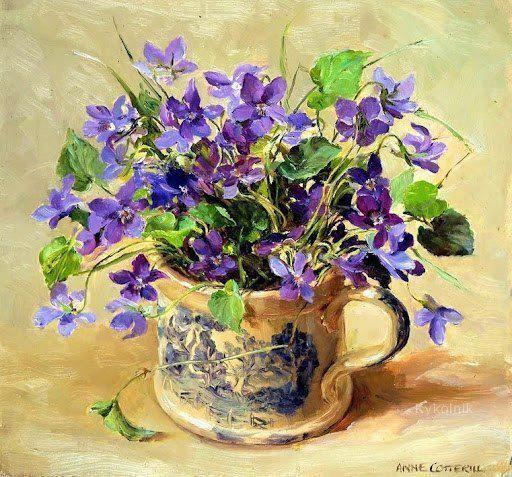 Anne Cotterill - Violets