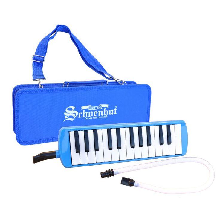 Schoenhut 25 Key Blue Melodica Musical Keyboard - 1025BL