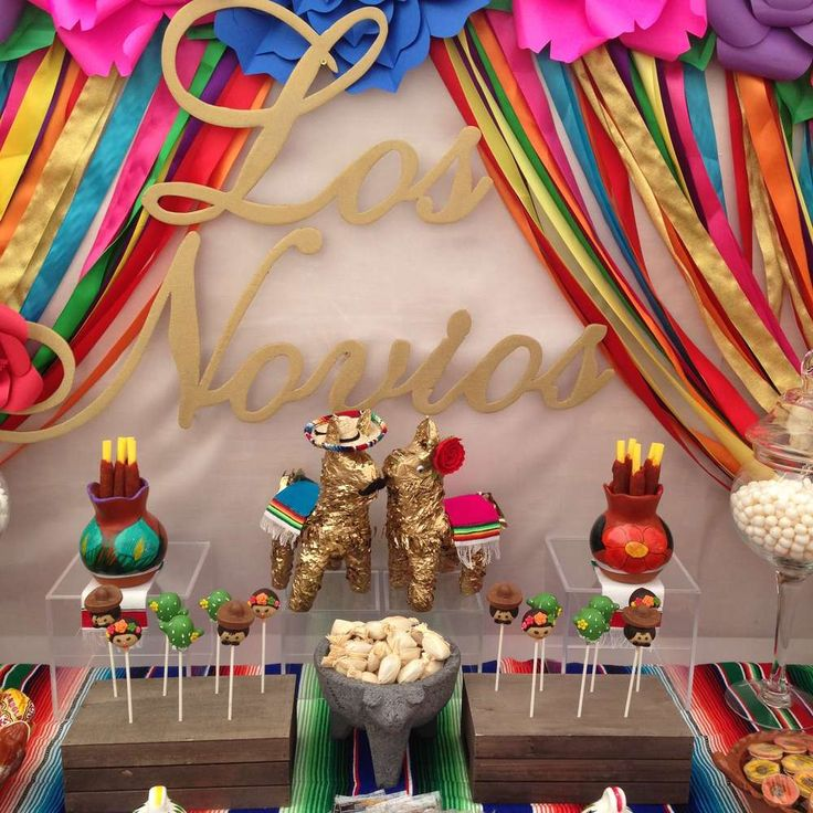 Fiesta / Mexican Bridal/Wedding Shower Party Ideas   Photo 18 of 19
